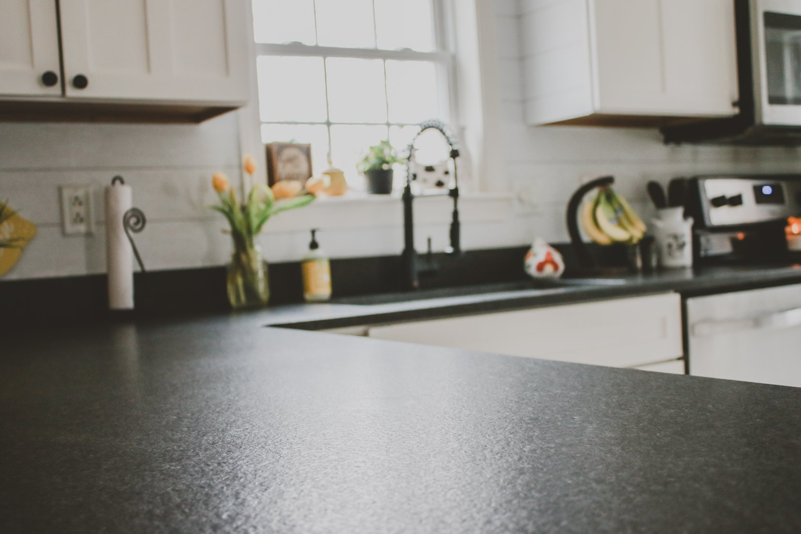 Black granite honed finish NH 2
