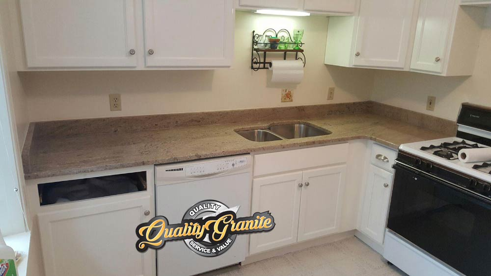 granite countertops 2 Cabinets white