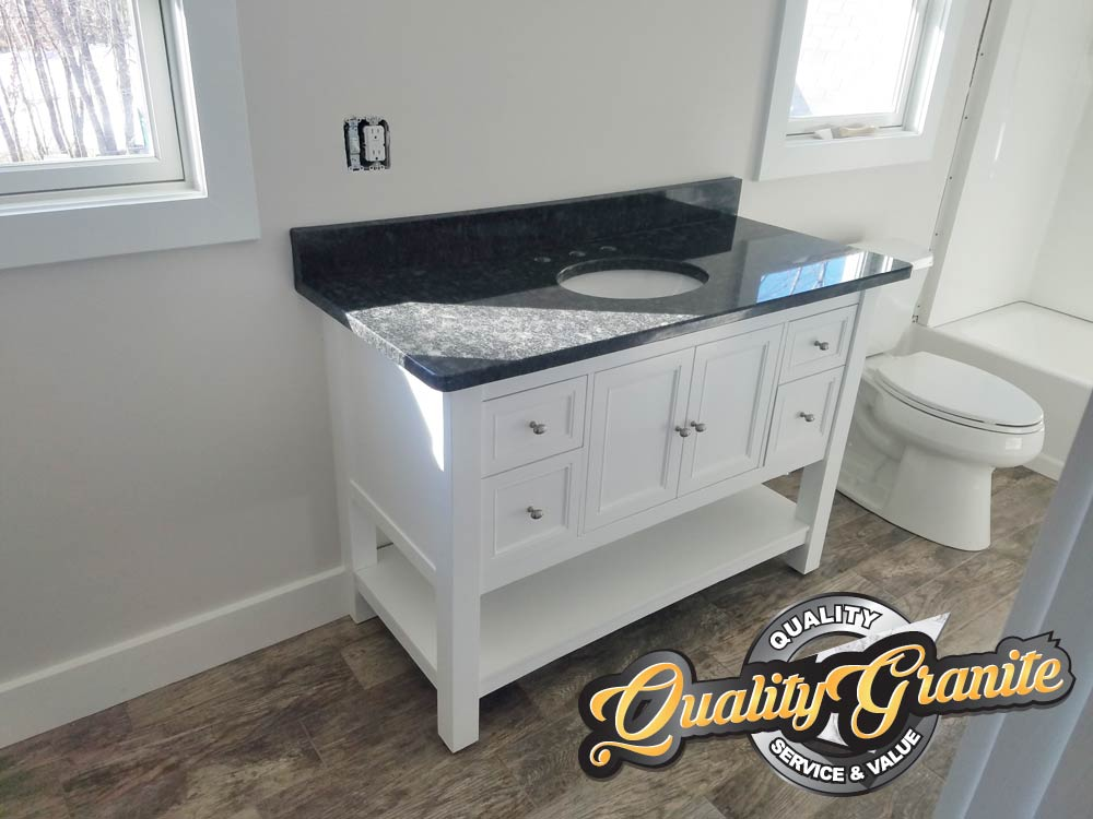 granite countertops bathroom vanity