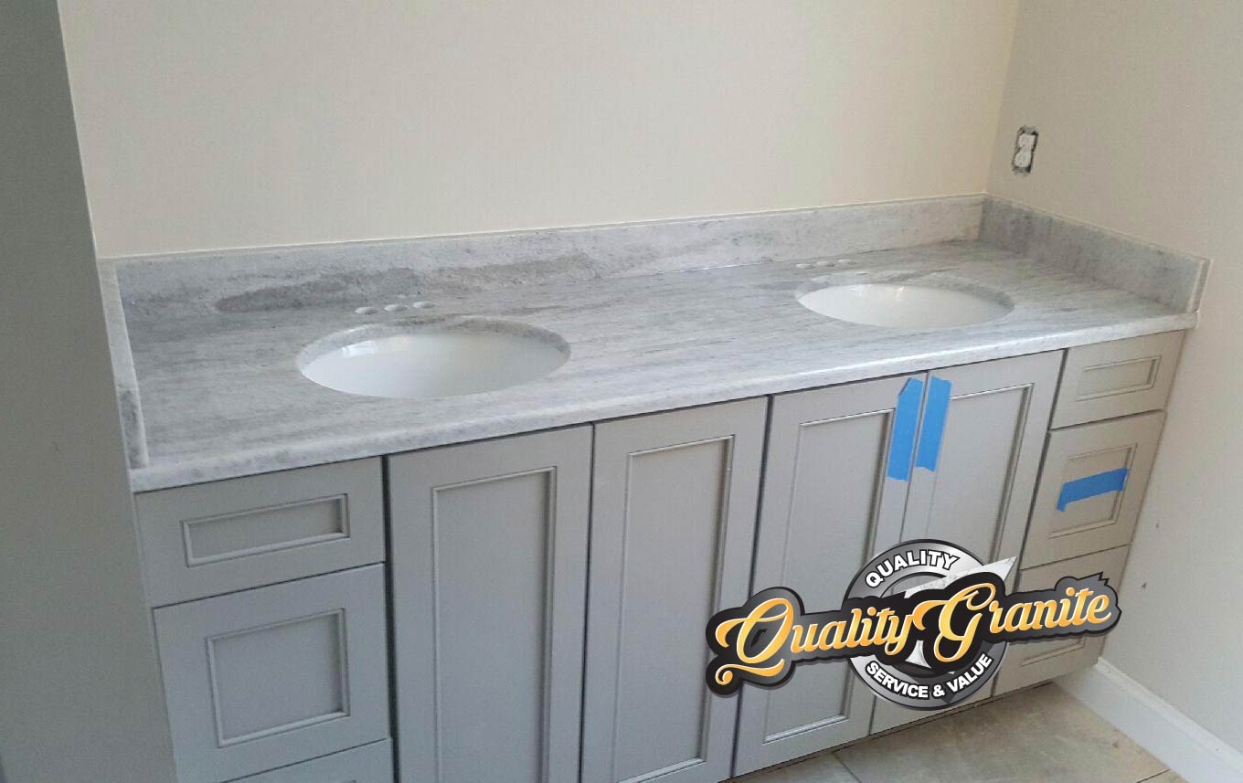 granite countertops double vantiy